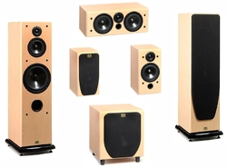 Radiotehnika Sakta Home Theater Set
